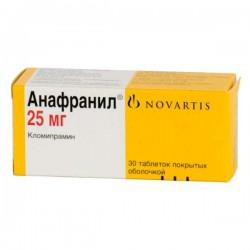 Анафранил, табл. п/о 25 мг №30
